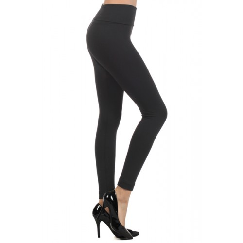 High waist fleece lined leggings
