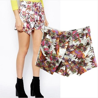 pants aliexpress skorts skirt shorts tropical zara sheinside