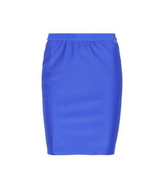 Fenty by Rihanna Biker skirt in blue