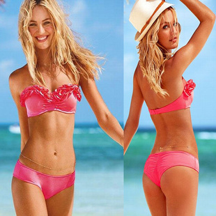 Dropshipping Free Shipping push up bathing suit tops discount swimsuit ruffle bikini underwire cups swimwea-in Bikinis Set from Apparel & Accessories on Aliexpress.com