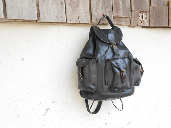 bags bag leather backpack vintage vintage bag black leather backpack vintage leather backpack black rucksack leather rucksack vintage rucksack black leather bag