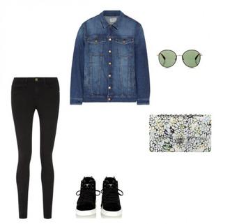 helena bordon blogger jacket jeans top shoes