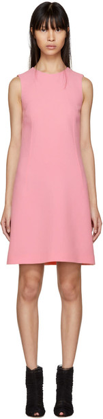 Dolce and Gabbana dress pink