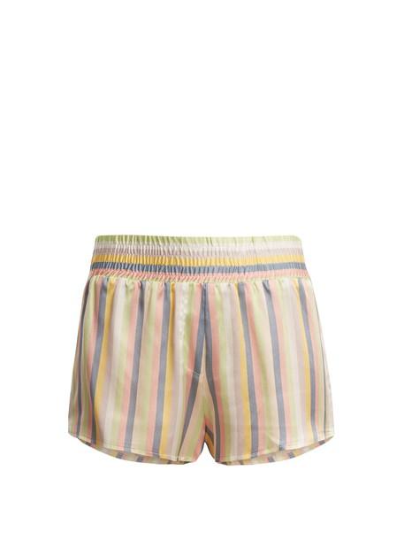 shorts pyjama shorts silk