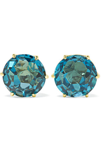 rock candy earrings gold jewels