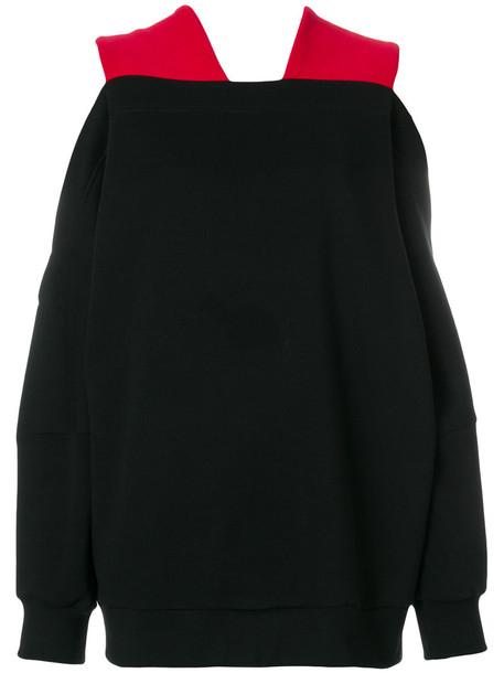 Ioana Ciolacu sweatshirt women cotton black sweater
