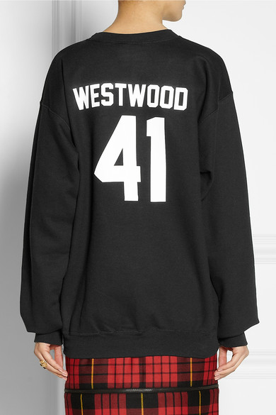 LPD New York | Team Westwood printed cotton-blend sweatshirt  | NET-A-PORTER.COM