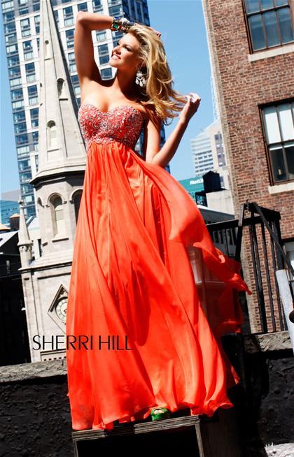Sherri Hill Prom Dress 3802 at Peaches Boutique