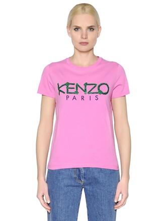 t-shirt shirt cotton pink top
