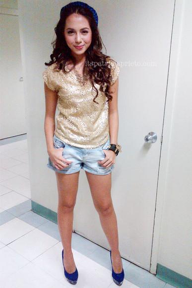celebrity style blouse celeb style bling