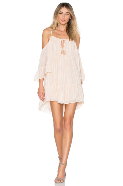 TULAROSA dress cream