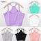 3 styles womens sleeveless shirt tank tops cami t shirt vest crop top blouse tee | ebay