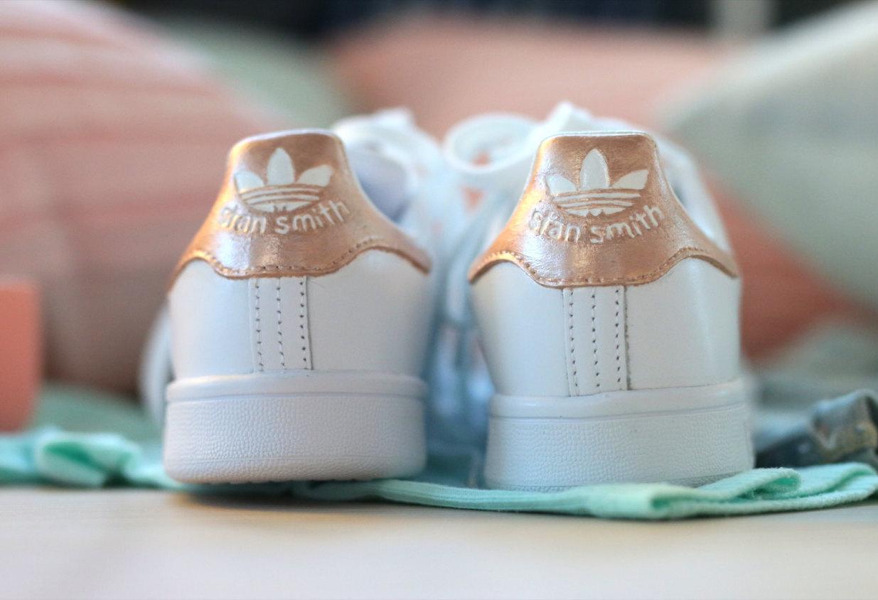 adidas stan smith rose gold kopen