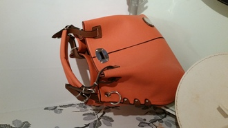 bag orange bag chloe bag chloé
