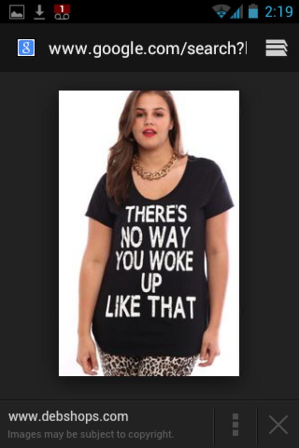 curvy t-shirt black t-shirt
