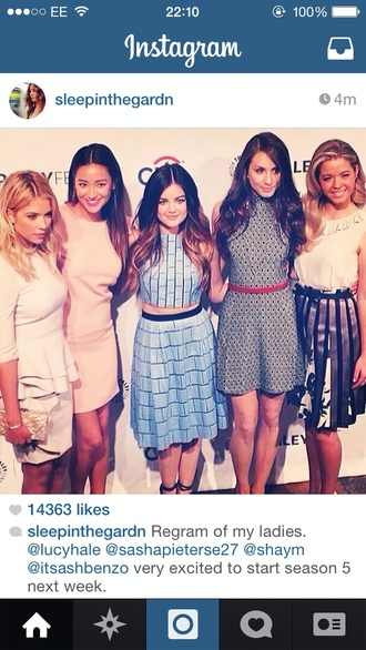 dress pretty little liars troian bellisario lucy hale ashley benson shay mitchell sasha pieterse blouse