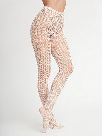 Crescent Pattern Fishnet | American Apparel
