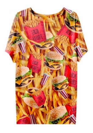 Burger tee