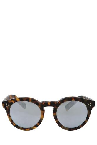 matte sunglasses brown