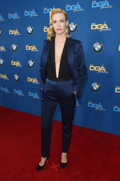 top suit jacket blazer january jones