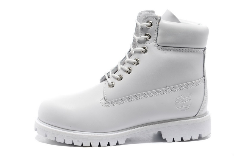 Timberland Mens/Womens 6-Inch Premium Waterproof Boots All White - €125.96 : z9z6