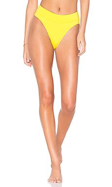 KENDALL   KYLIE x REVOLVE Cutout High Rise Bikini Bottom in Blazing Yellow from Revolve.com