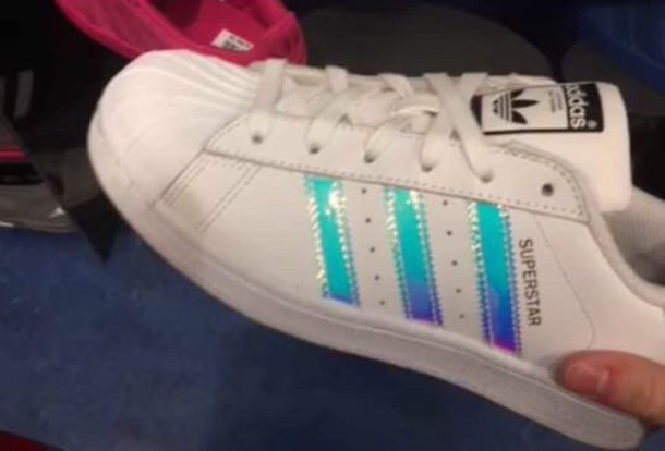 adidas superstar damen hologramm