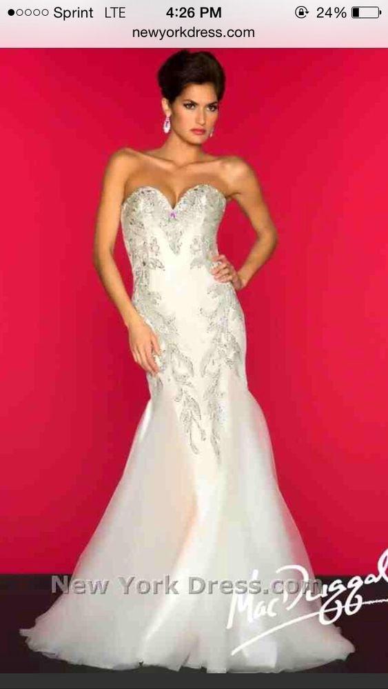 Mac duggal designer dress 81901r
