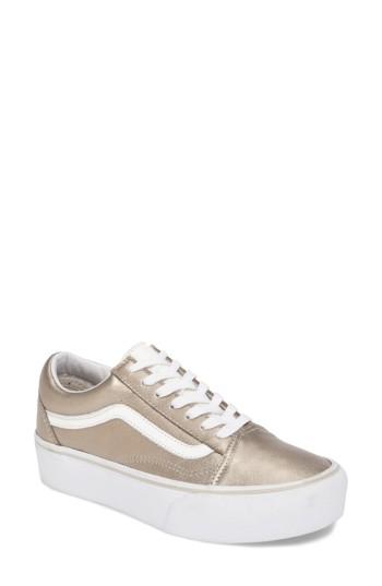 fafa53da3a6e Vans Old Skool Platform Sneaker (Women)