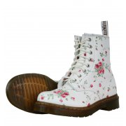 Dr martens 1460w 11821111 womens boots aw12 white portland rose