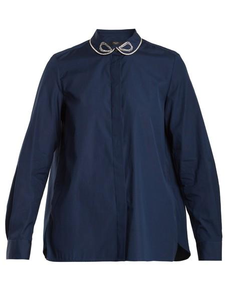 WEEKEND MAX MARA shirt navy top