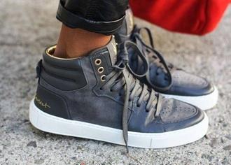 shoes gray sneaker ysl sneakers