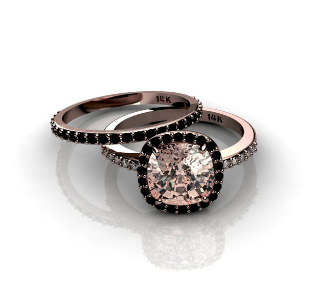 Jewels rose gold rose ring diamonds jewelry engagement ring wedding rin