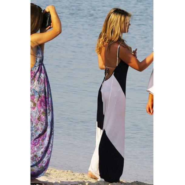 Beach Backless Dress