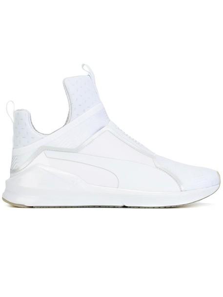puma women sneakers white shoes