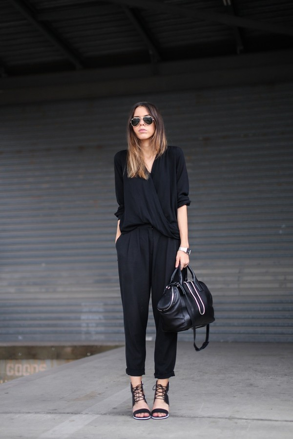 modern legacy shirt pants shoes bag sunglasses