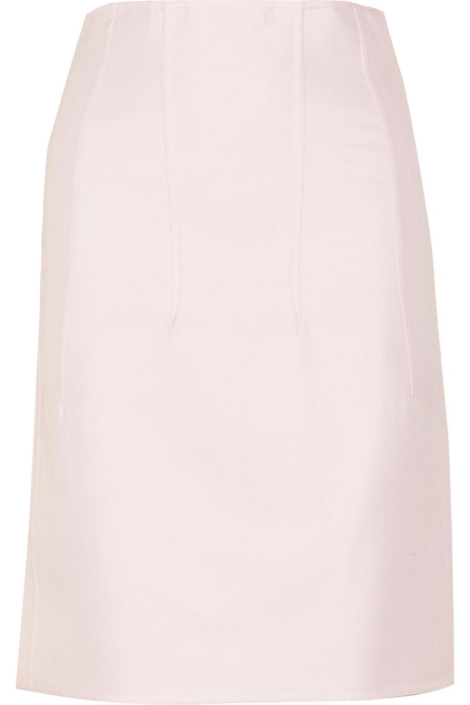 Neutro cotton-gabardine skirt | Jil Sander | 66% off | THE OUTNET