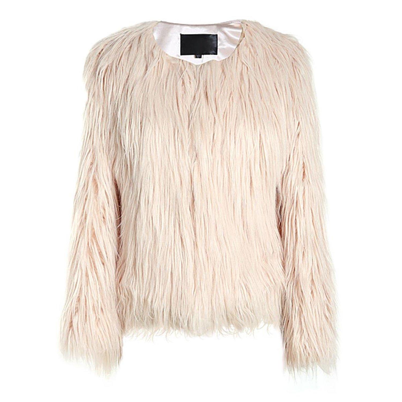 Zeagoo fashion faux fur warm jacket sleeveless winter outerwear jacket long vest at amazon women's coats shop