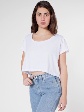 top white crop tops cotton