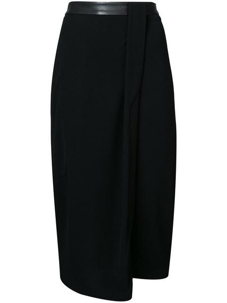 Kimora Lee Simmons skirt asymmetrical skirt asymmetrical women black