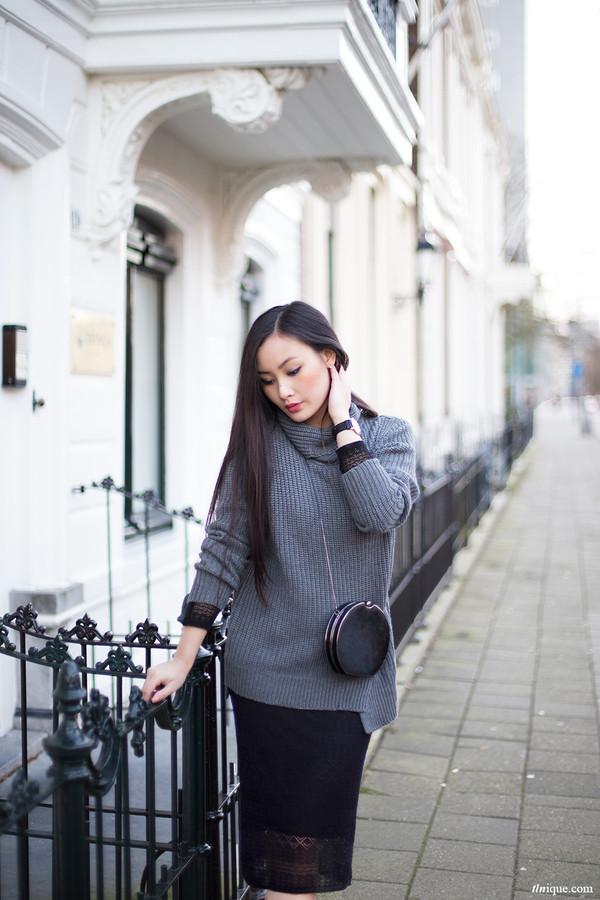 tlnique sweater dress shoes