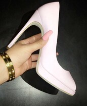 shoes,high heels,high heel pumps,blush pink