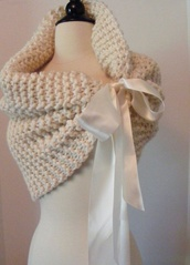 scarf,knitted scarf,crochet,shawl,cream,nitted,nitted scarf