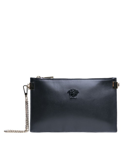 VERSACE pouch leather bag