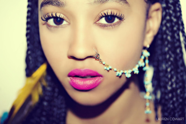 jewels nose ring jewelry blue