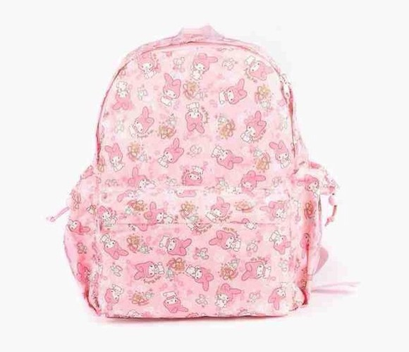 pastel kawaii bag my melody hello kitty sanrio