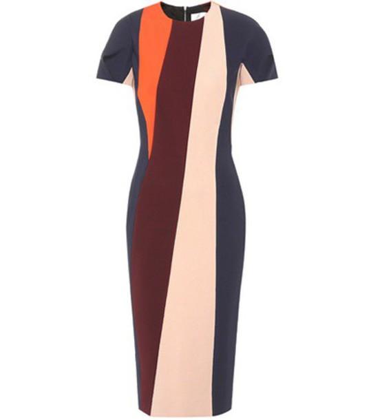 Victoria Beckham dress striped dress