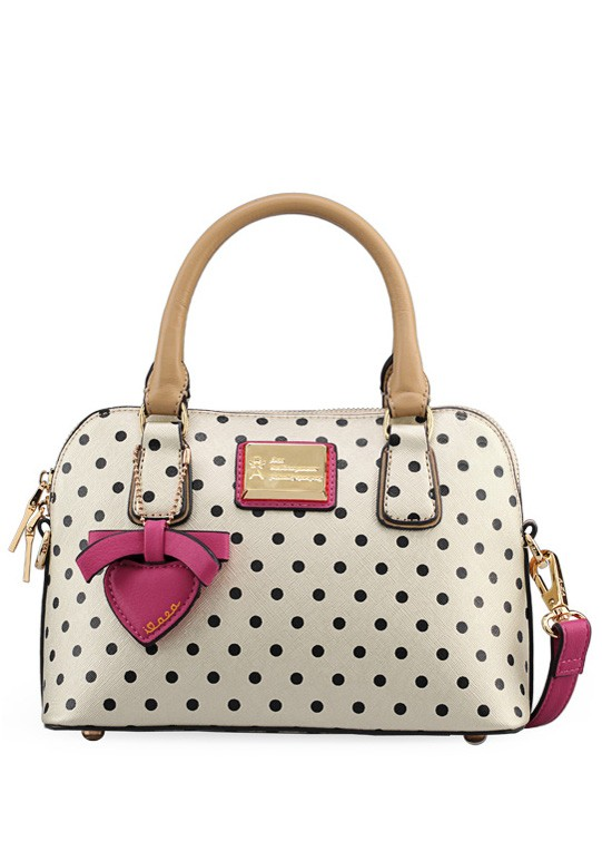 Polka Dot Printed Tote Bag | ReoRia