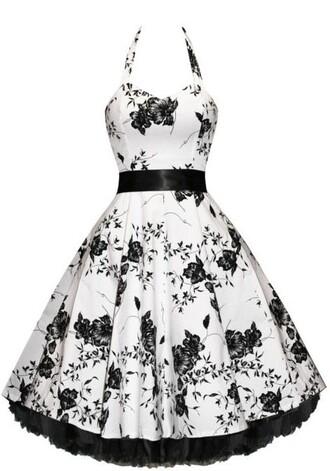 floral bouquet dress floral dress vintage dress 50s style vintage fashion dress prom dress evening dress retro retro dress floral clothes