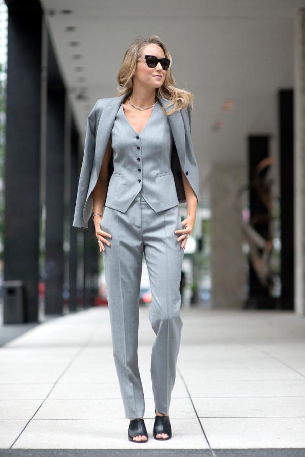 Grey Pants Matching Shoes Women